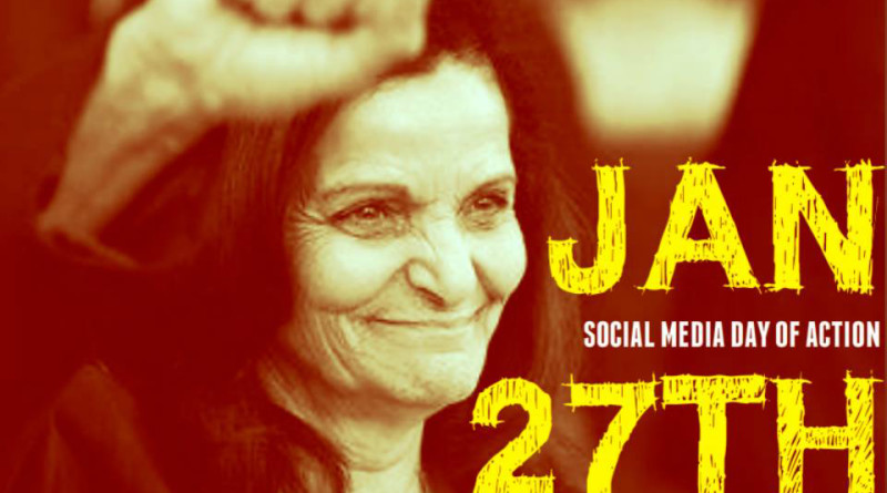 Resources for Wednesday, January 27: Join social media day of action for #Justice4Rasmea
